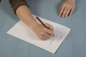 Test d'écriture
